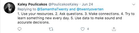 Kaley Poulicakos twitter