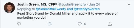 Justin Green twitter