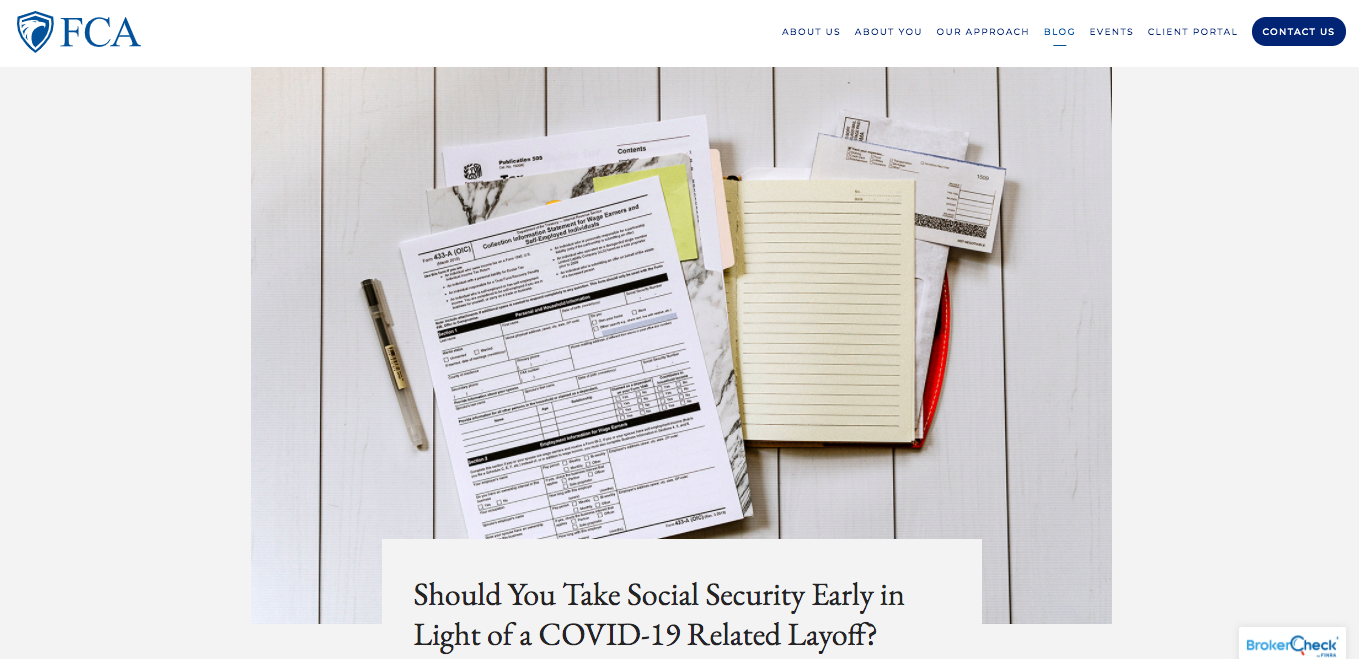 Should you take social security?