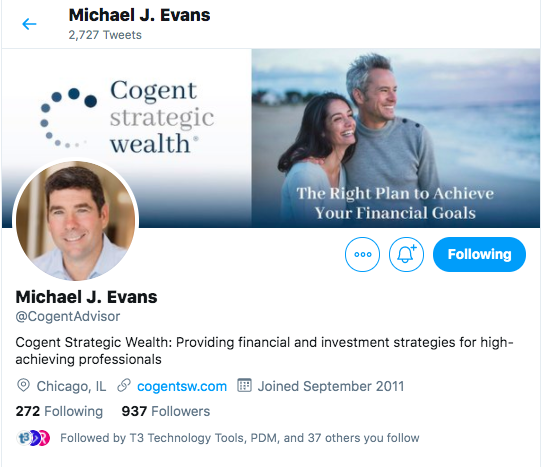 Cogent Strategic Wealth Twitter