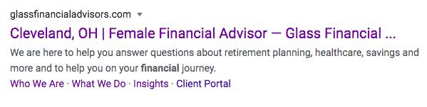 Glass Financial Advisors
