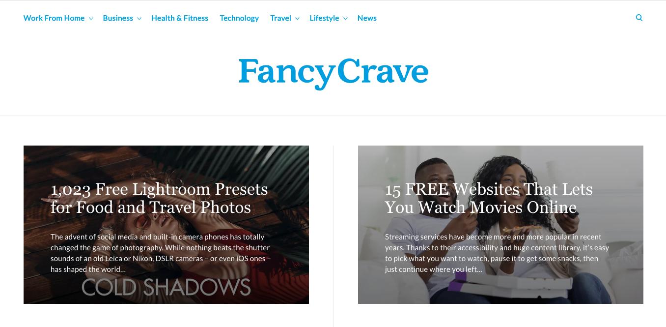 Fancy Crave