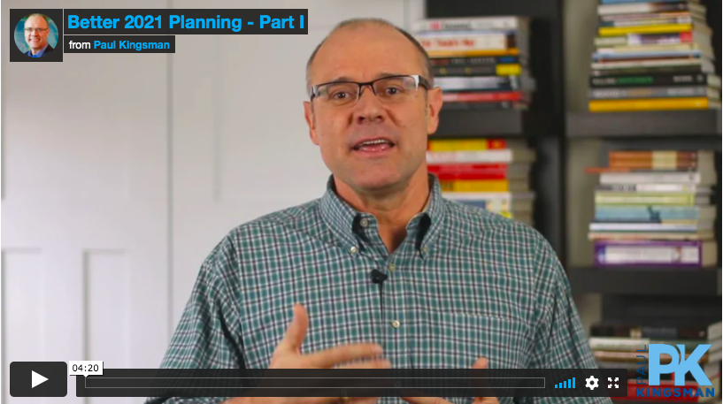 Paul Kingsman advisor idea video
