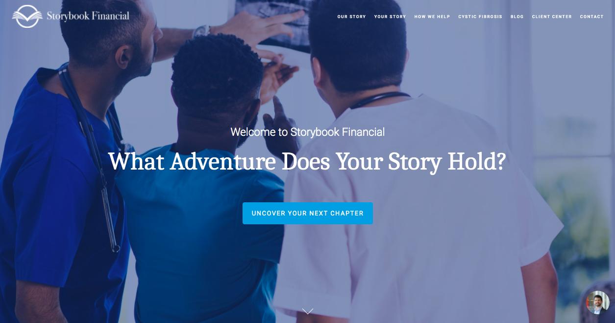 Storybook Financial CTA
