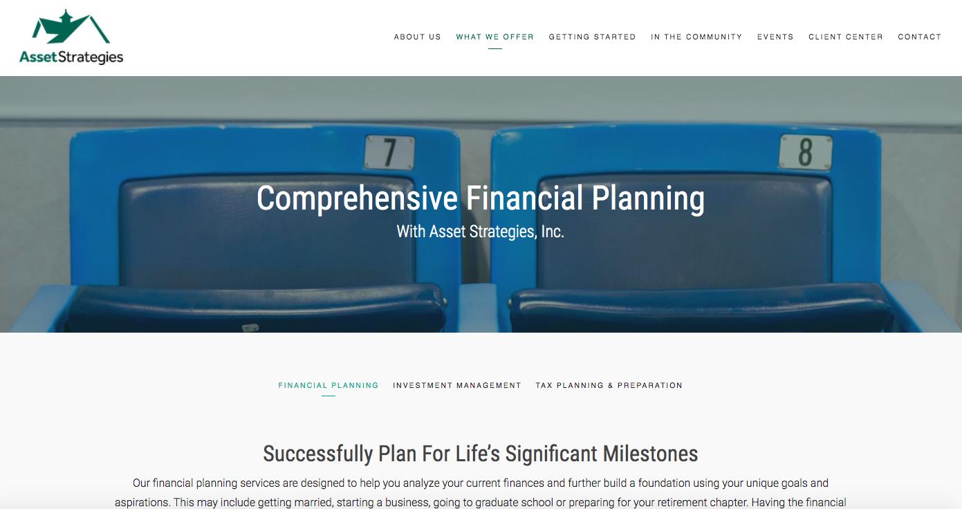 Asset Strategies headers