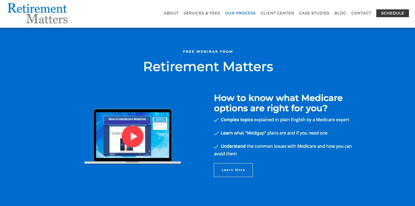 Retirement Matters Illinois