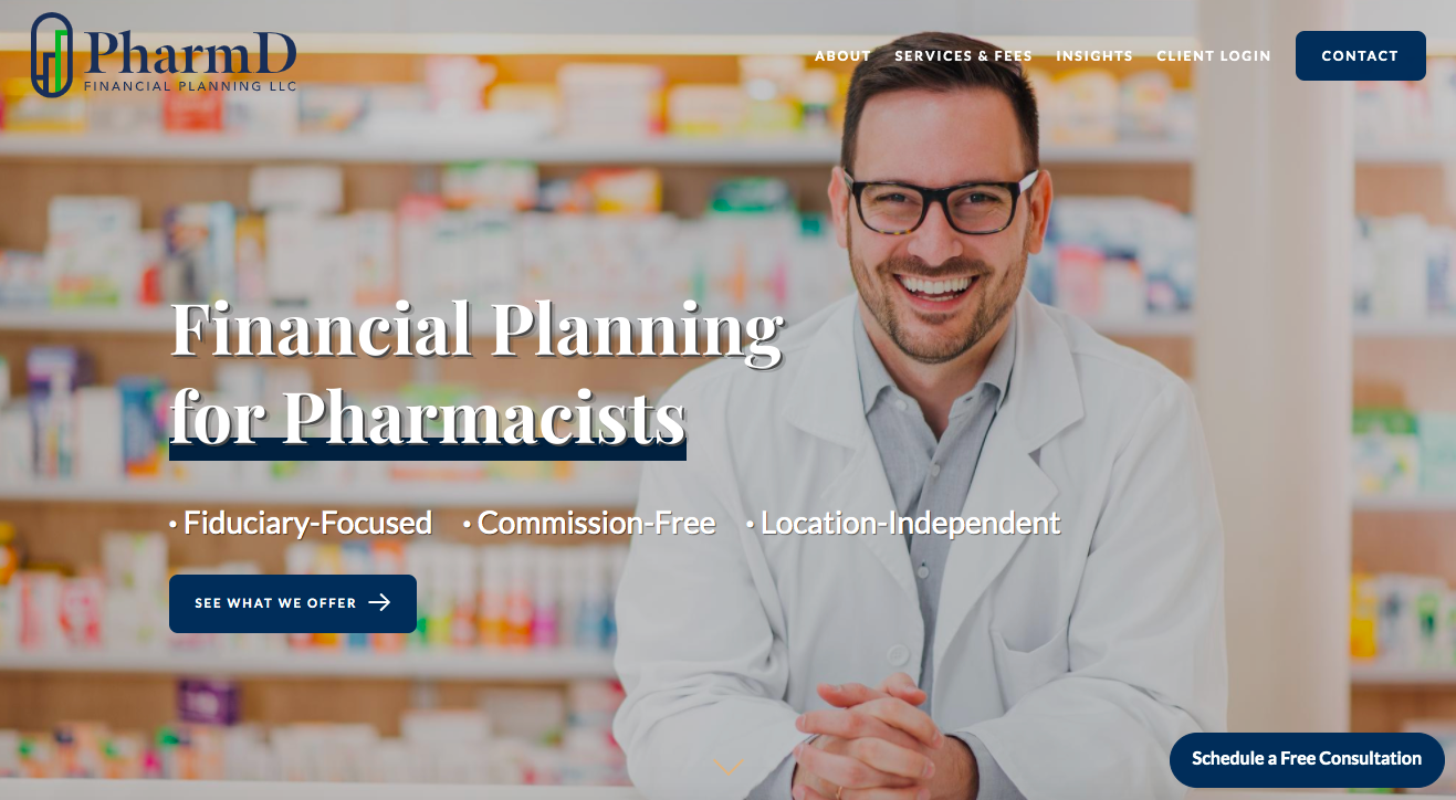 PharmD Financial Planning