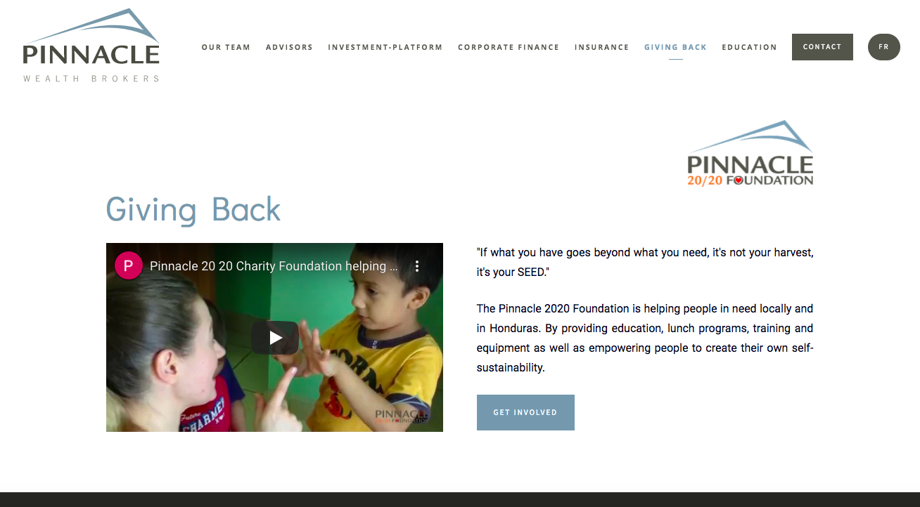 Pinnacle 20/20 Wealth Foundation
