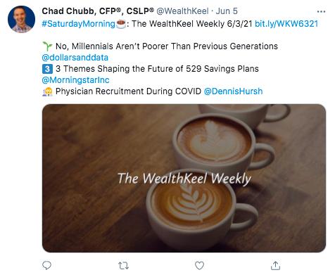WealthKeel, LLC Twitter