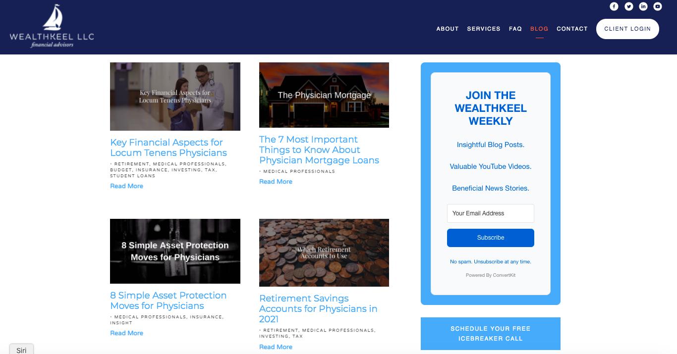 WealthKeel blog