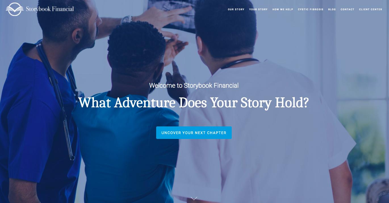 Storybook financial