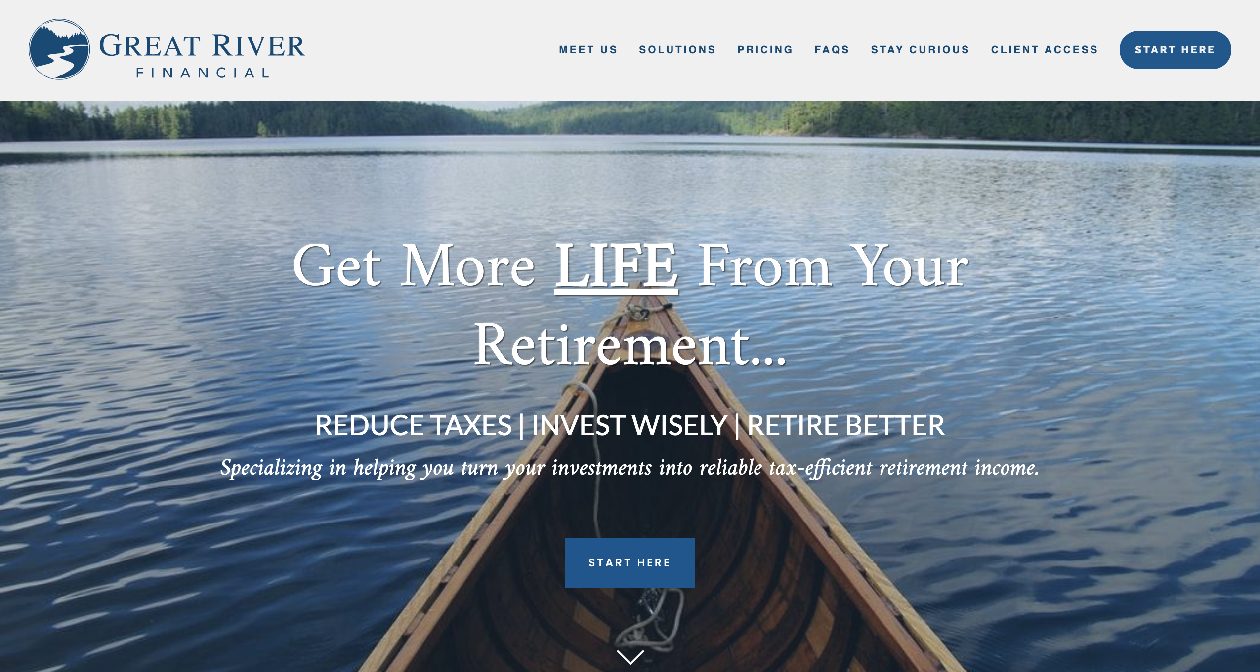 Great River Financial Homepage