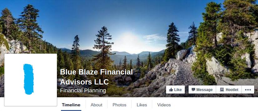 facebook for financial advisors