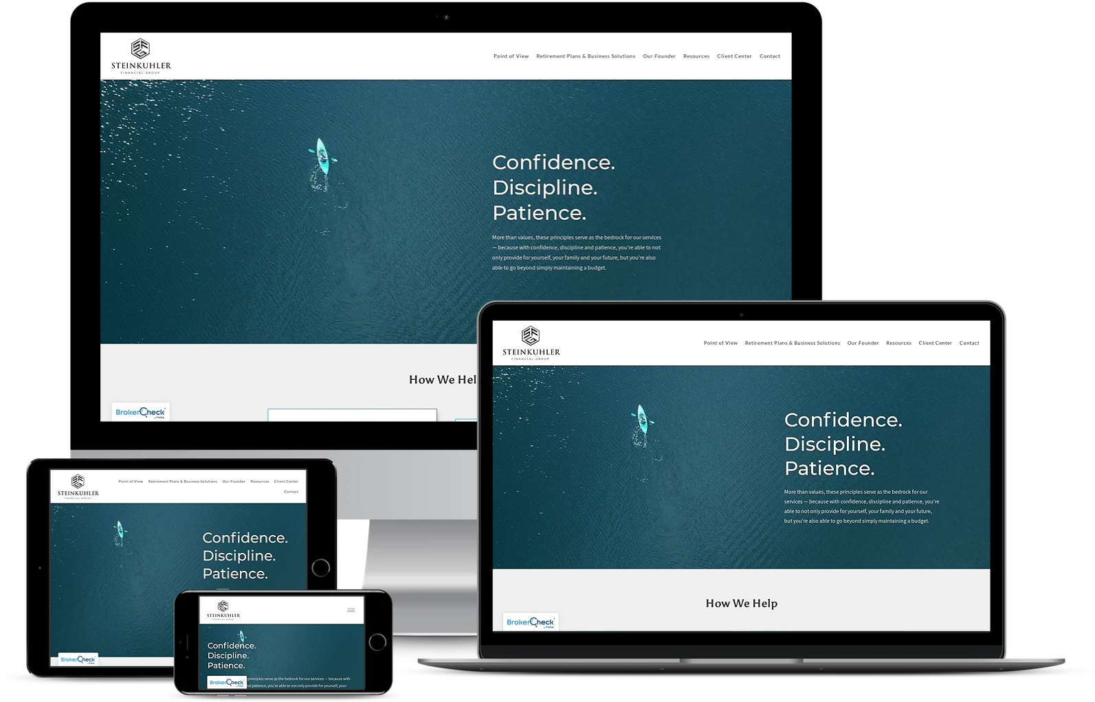 Steinkuhler financial best financial advisor websites built by twenty over ten
