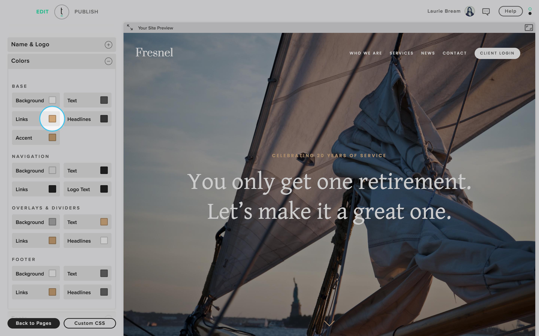 UX website consistency