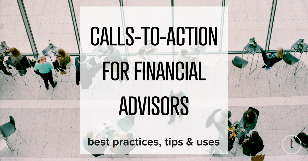 importance of CTAs for financial advisors