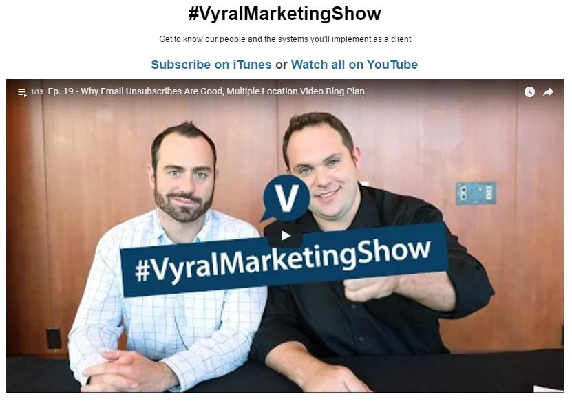 Vyral Marketing showcase