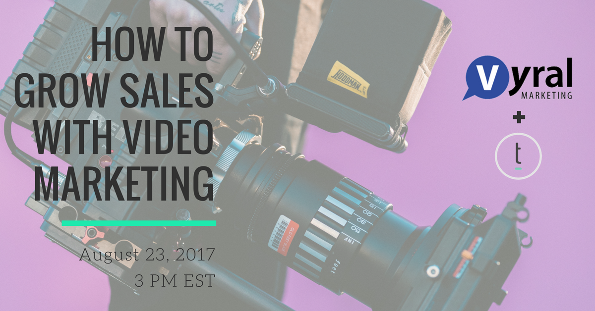 video marketing webinar