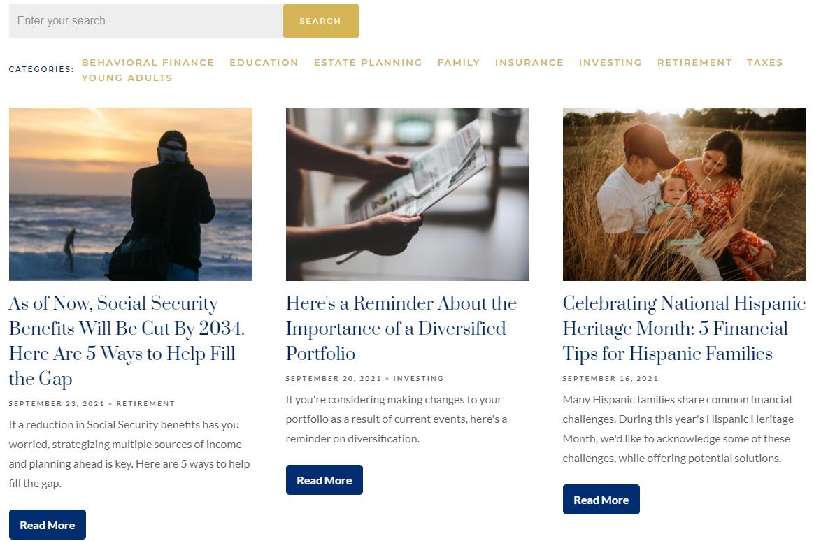 WealthCare Advisors Blog