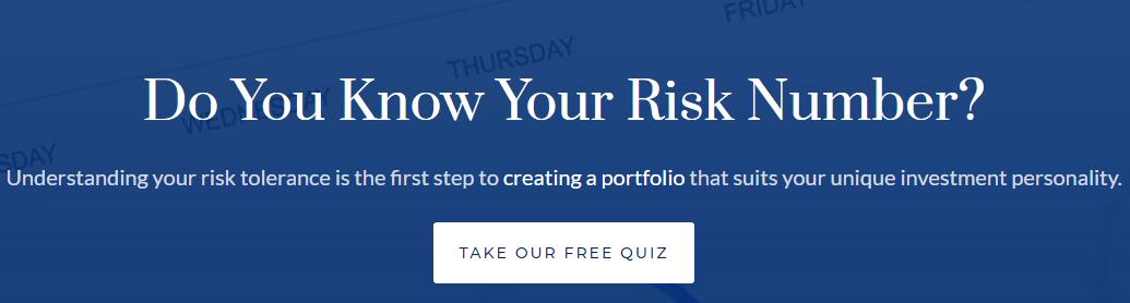 WealthCare Advisors Risk Number Quiz