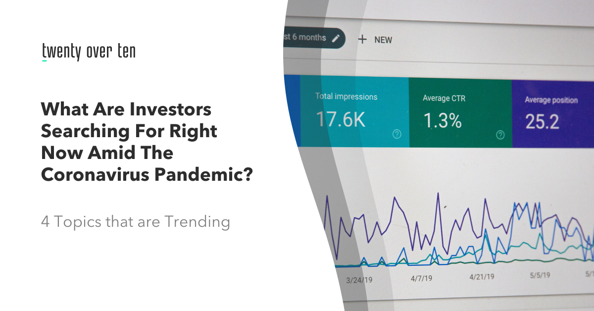 What are Investors Searching for?