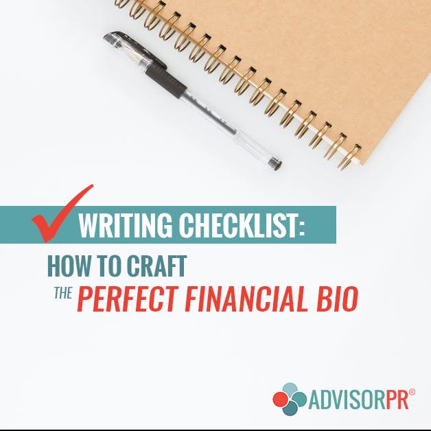Writing-a-bio for financial advisors from advisor pr