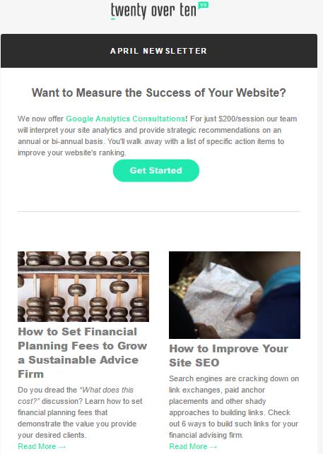 Top 5 newsletter best practices