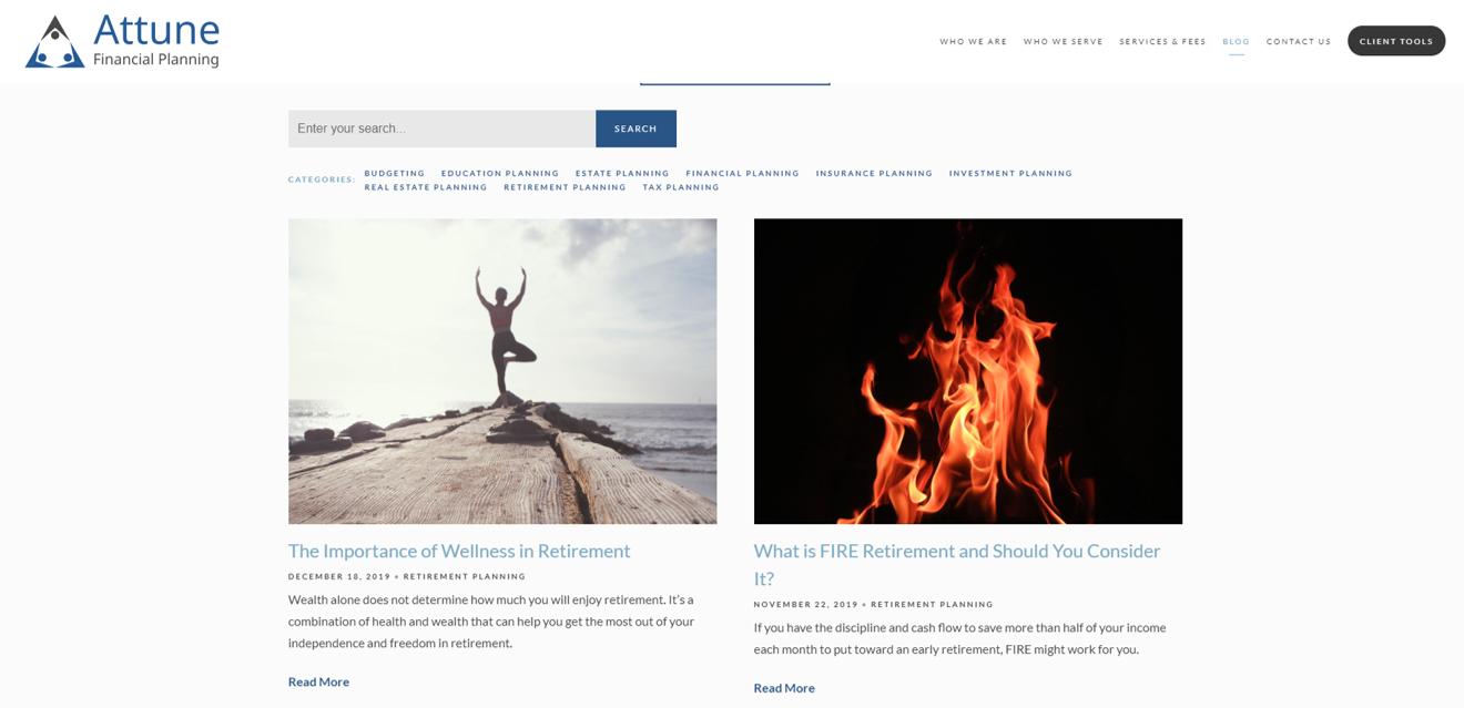 Attune Financial Planning Blog
