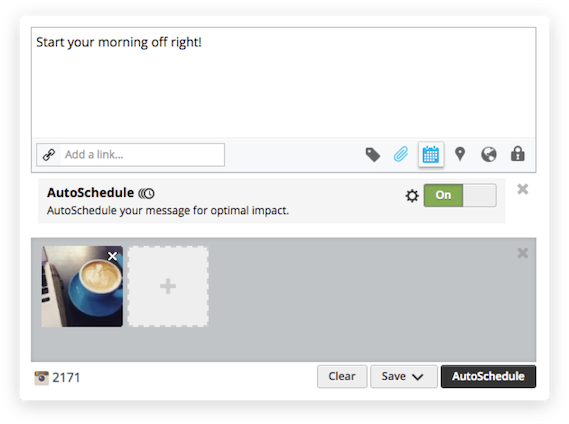 auto scheduling with hootsuite