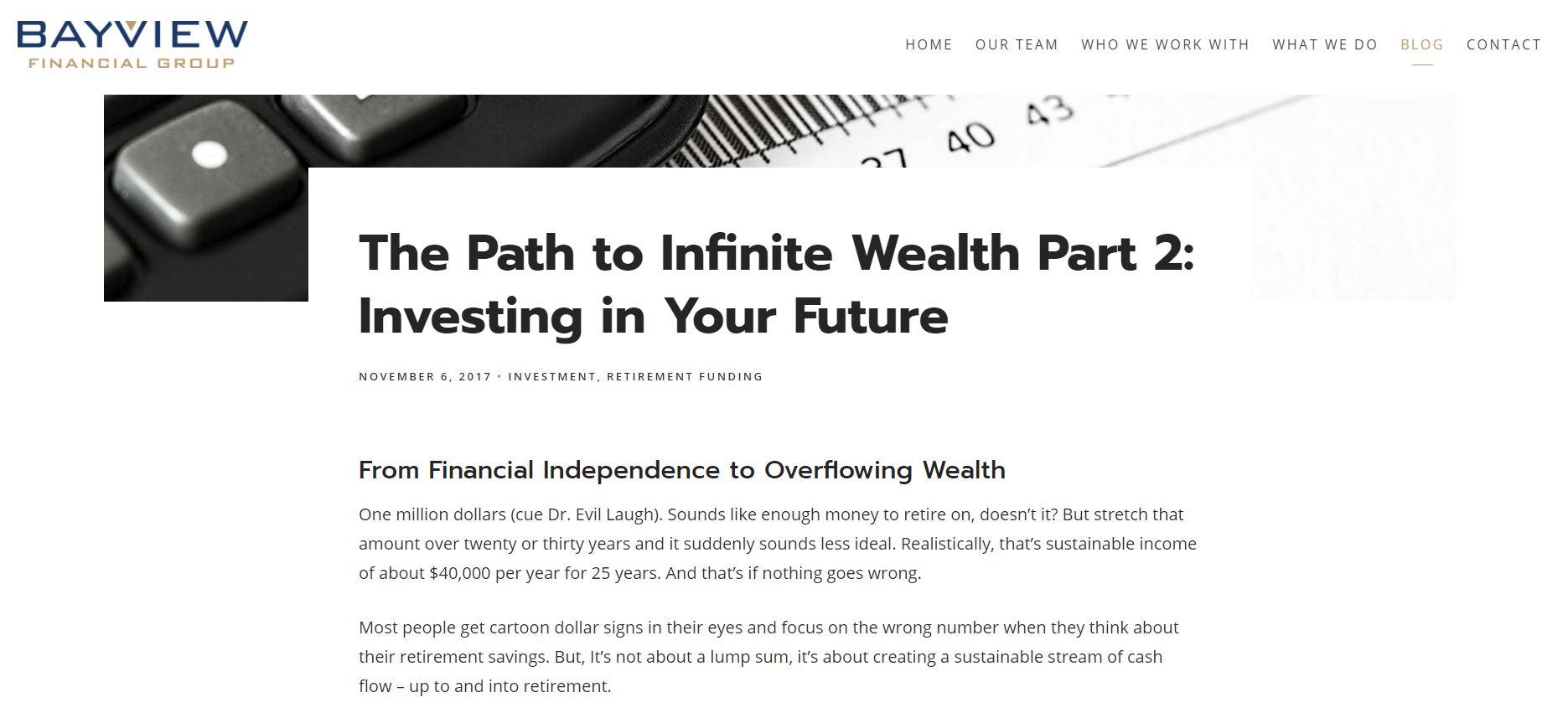 bayview financial group blog