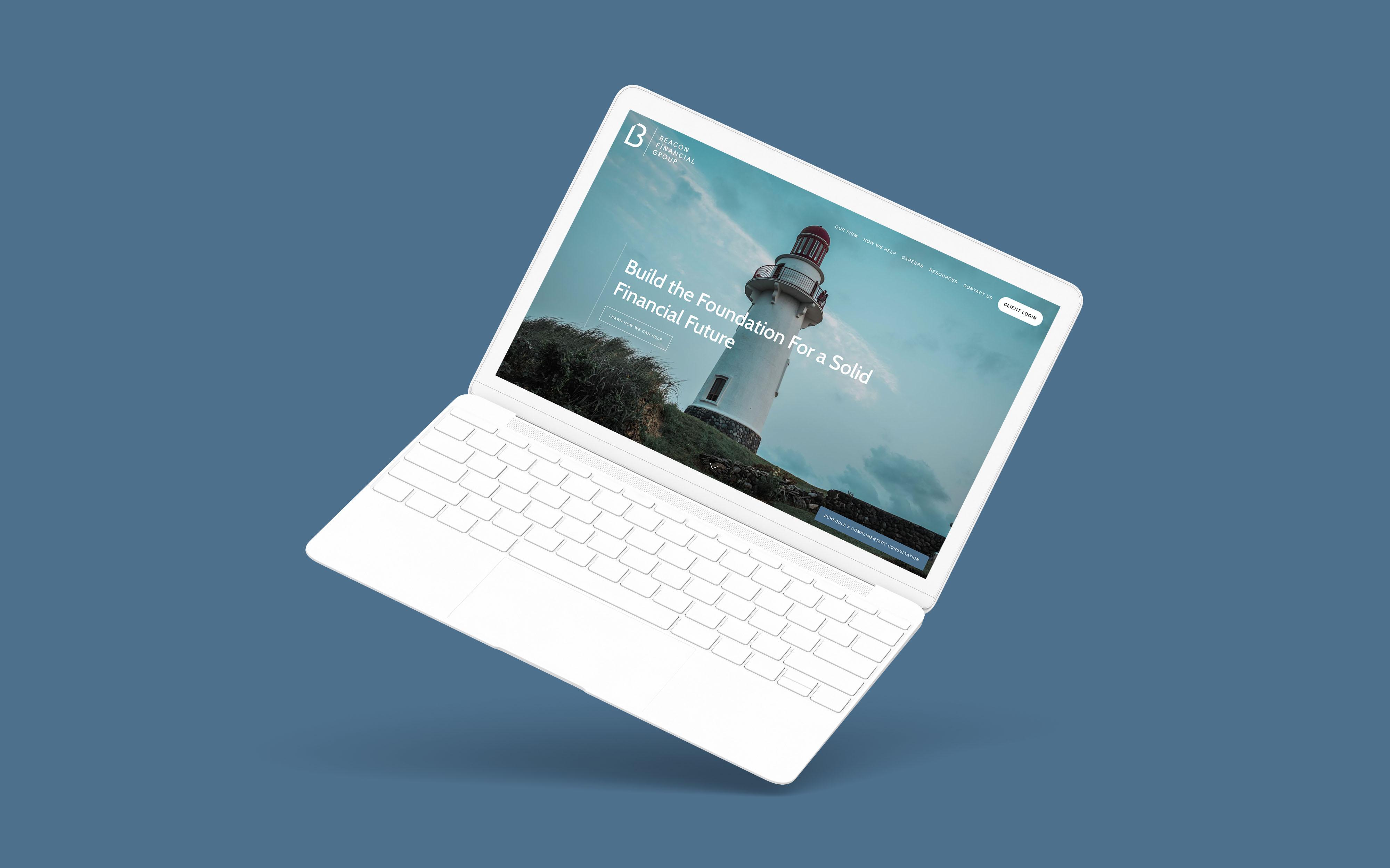 Financial Advisor Website Showcase: Beacon Financial Group Featured Image