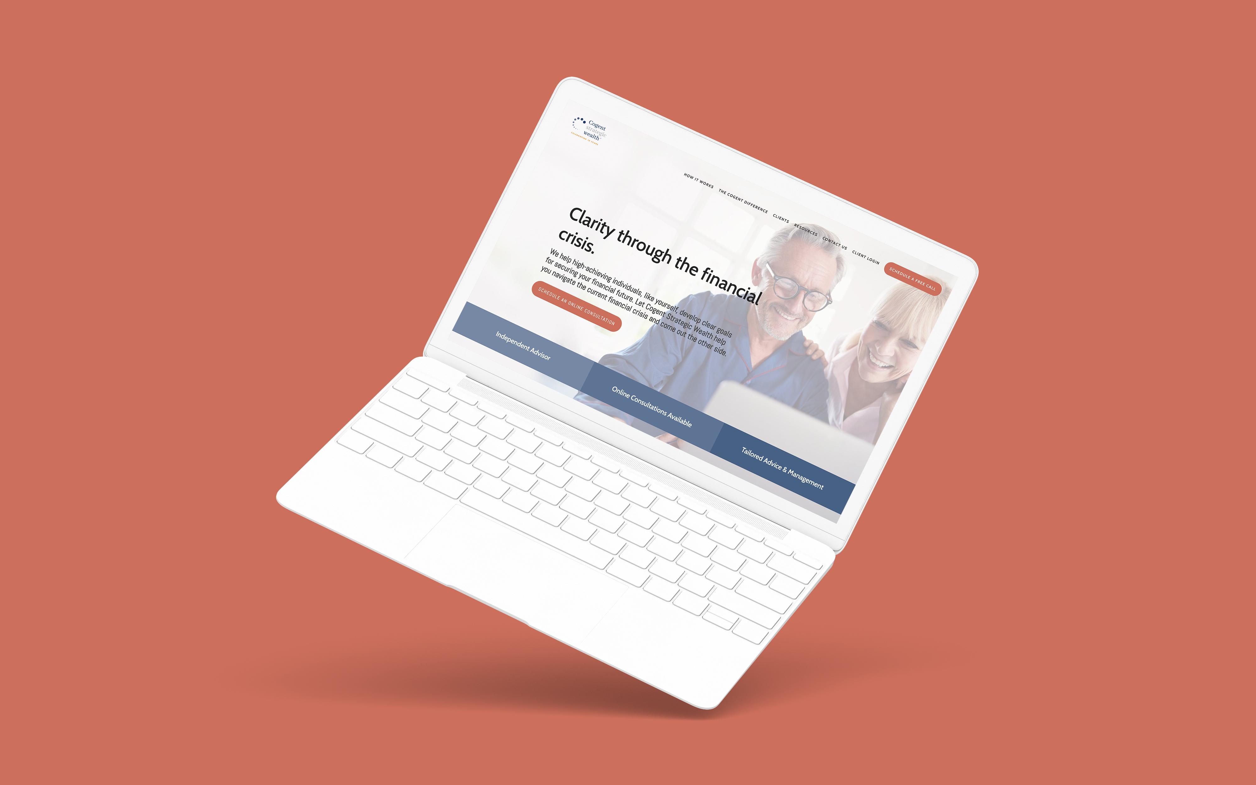 Financial Advisor Website Showcase: Cogent Strategic Wealth
