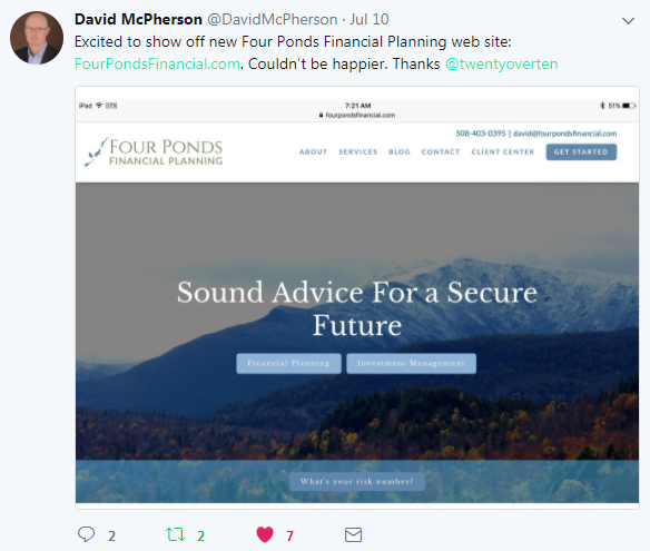 Dave McPherson, Four Ponds Financial Planning