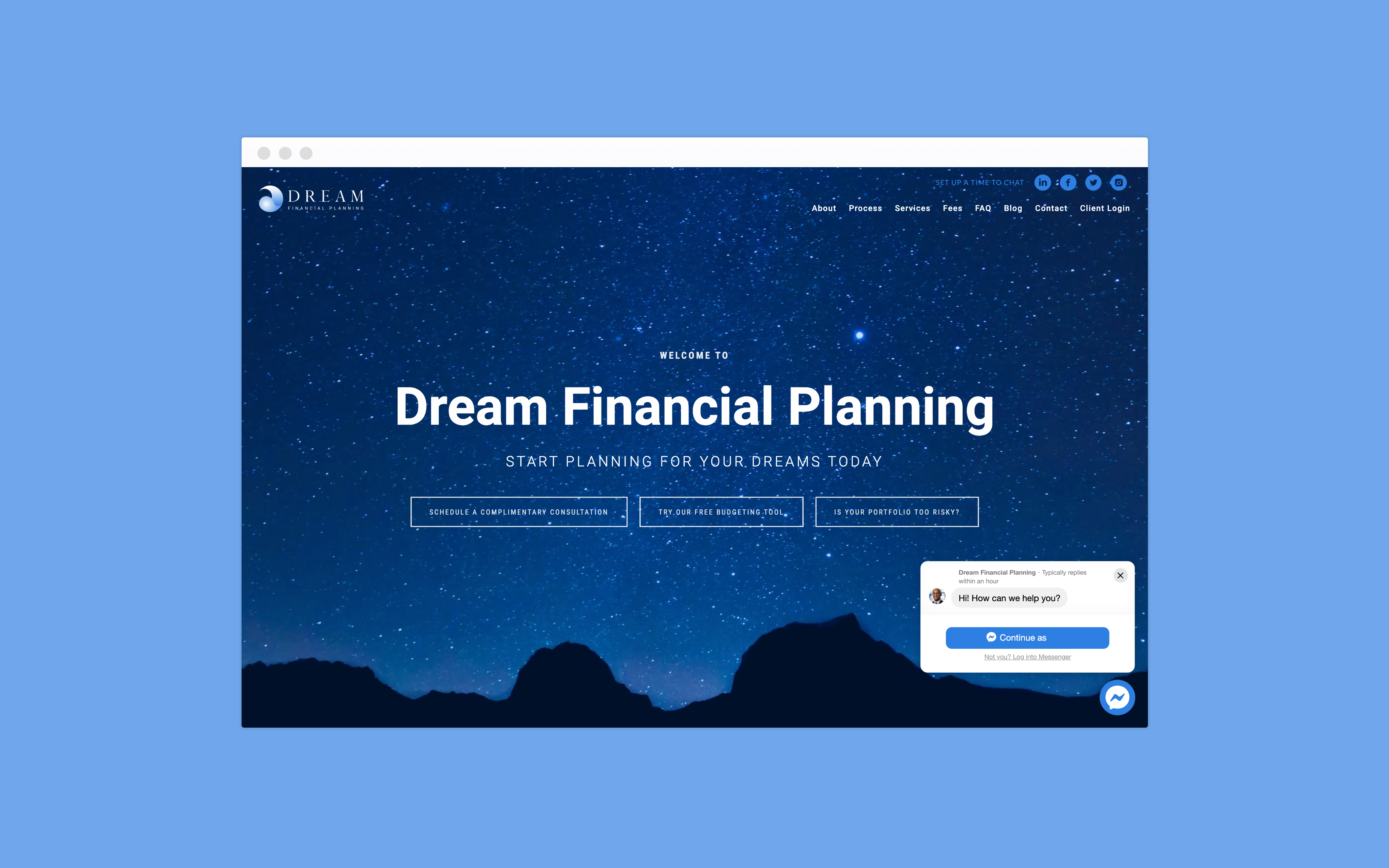 Dream Financial Planning Chatbot