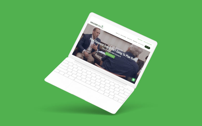Advisor Website Showcase: Drucker Wealth Management Thumbnail