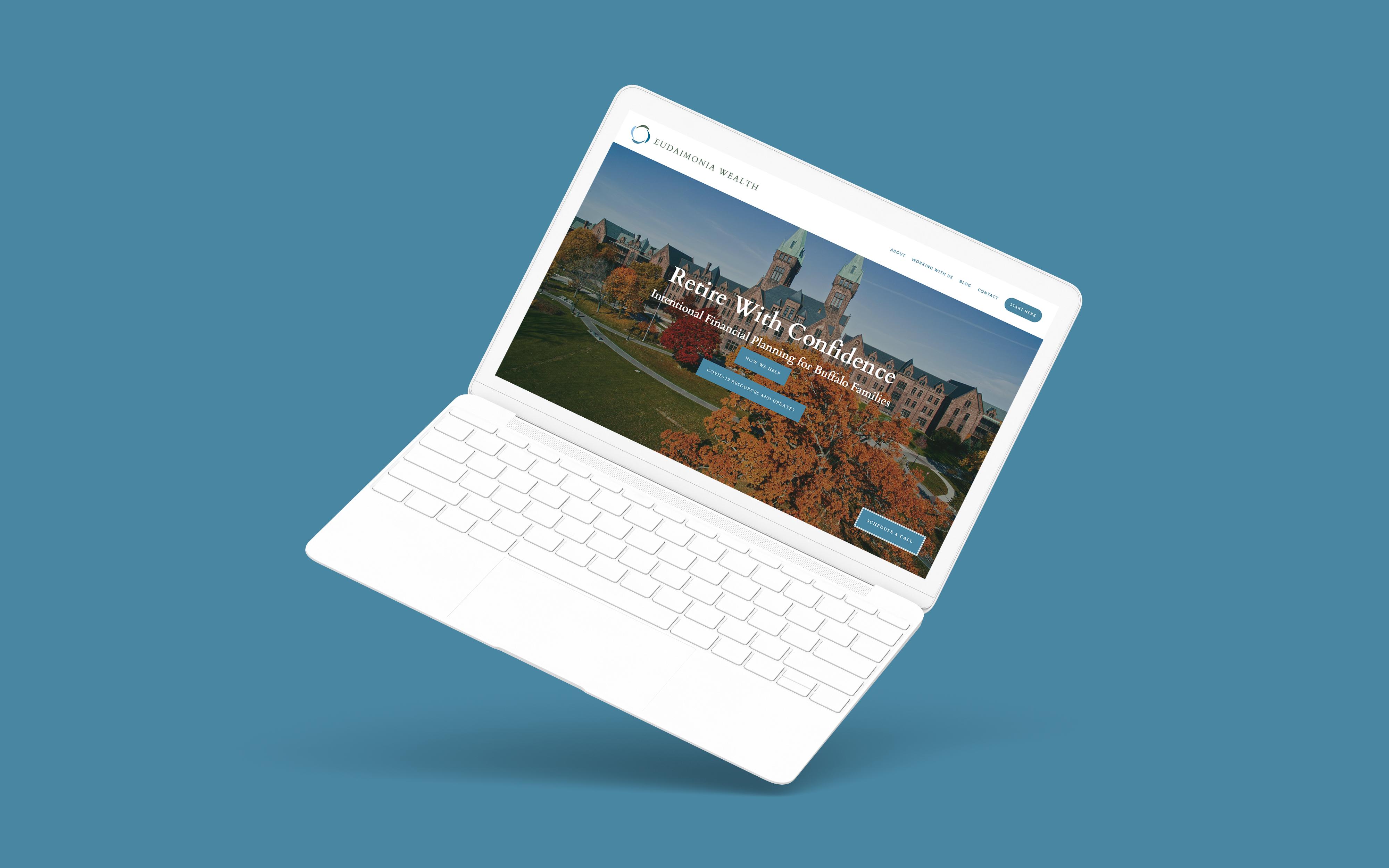 Financial Advisor Website Showcase: Eudaimonia Wealth Featured Image