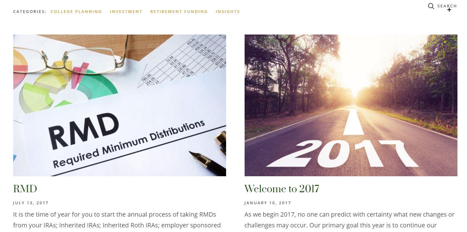 financial advisor website blog, fairhaven financial advisory corporation