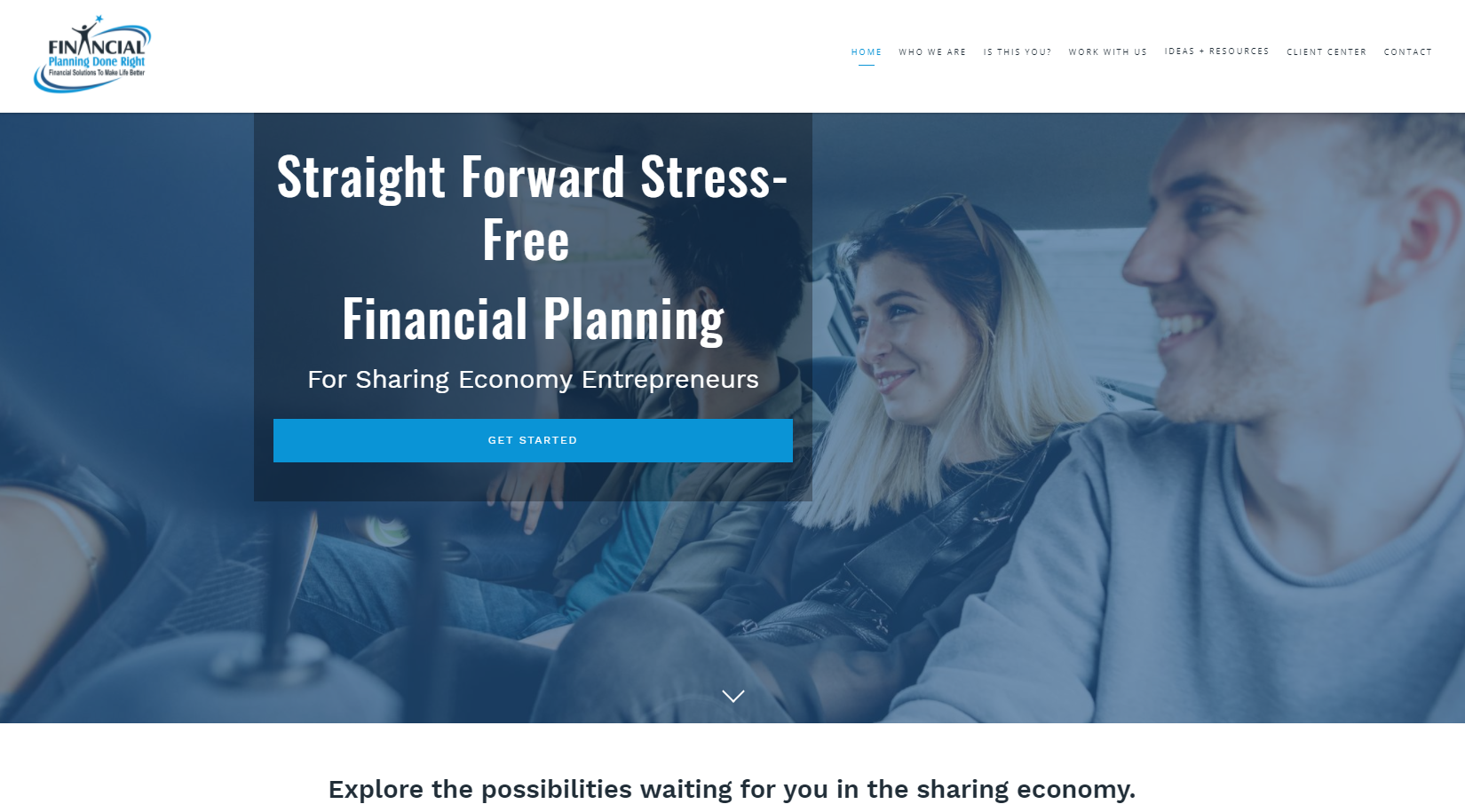 financial planning done right financial planning for sharing economy entrepreneurs