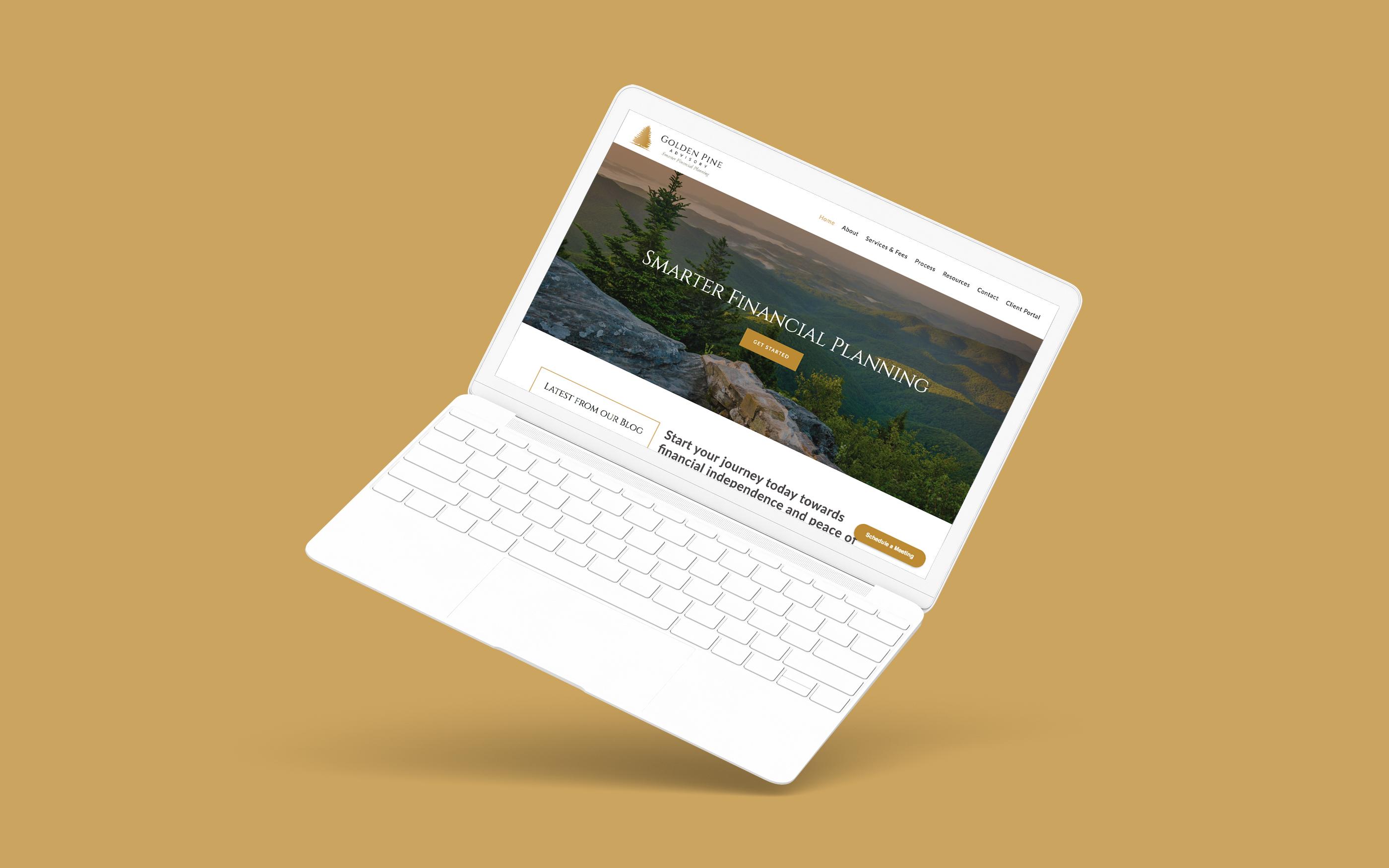 Advisor Website Showcase: Golden Pine Advisory Featured Image