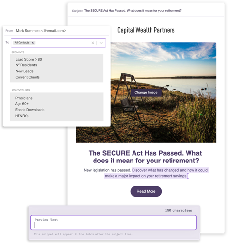 Lead Pilot email marketing