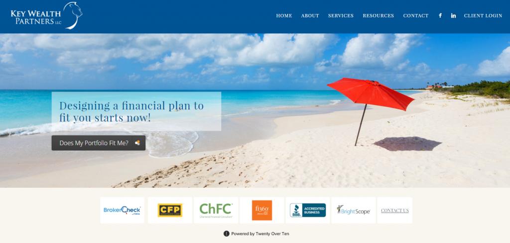 Adviser Websites: Key Wealth Partners