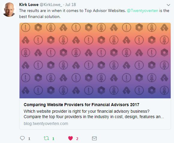 Kirk Lowe, Financial Branding Expert