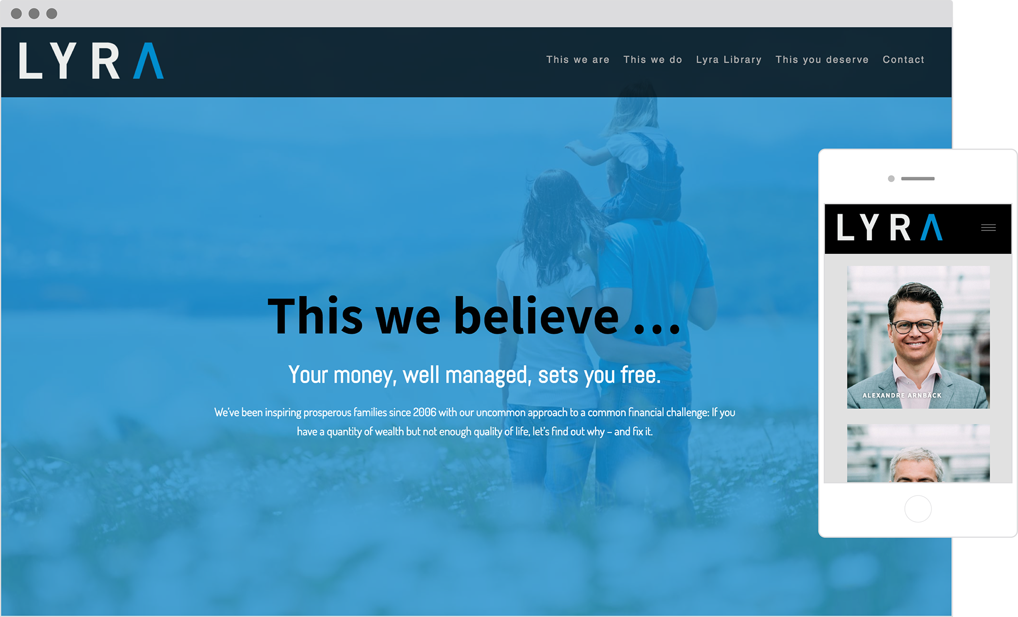 best financial advisor websites: lyra wealth management