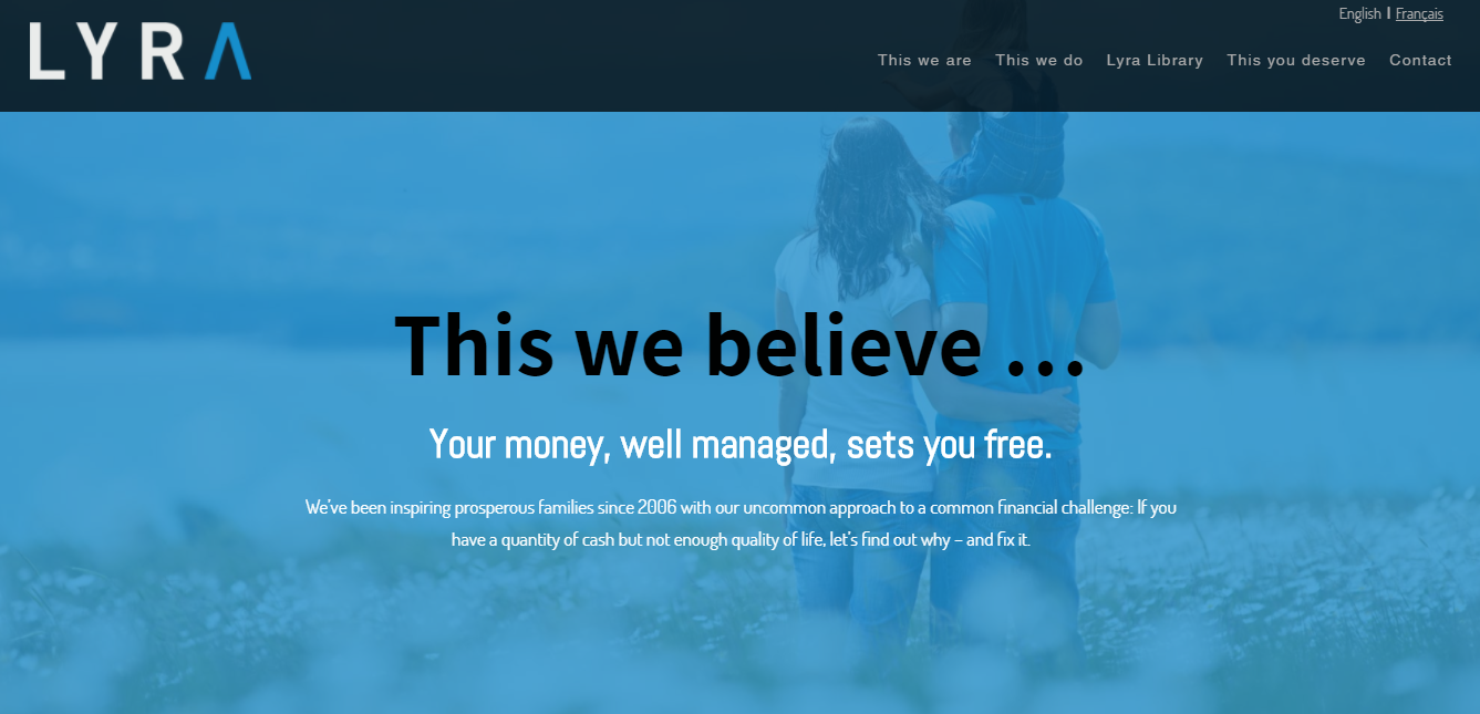 lyra wealth management best financial advisor websites