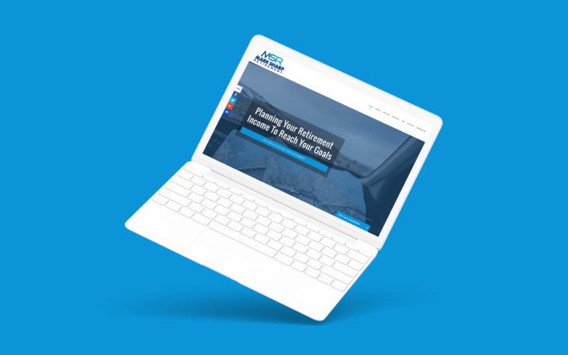 Financial Advisor Website Showcase: Mark Sharp Retirement Thumbnail