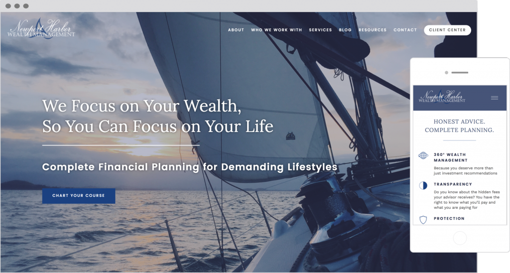 Client Portals on Financial Advisor Websites