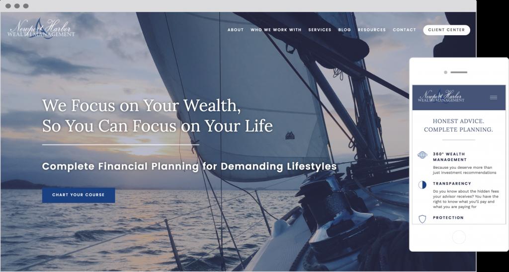 Client Portals on Financial Advisor Websites