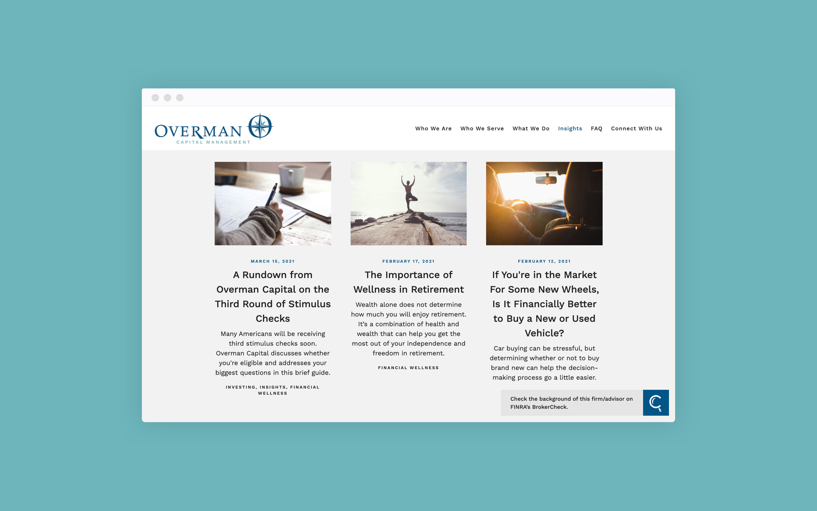 Overman Capital Management blog