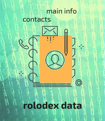 roladex data redtail technology