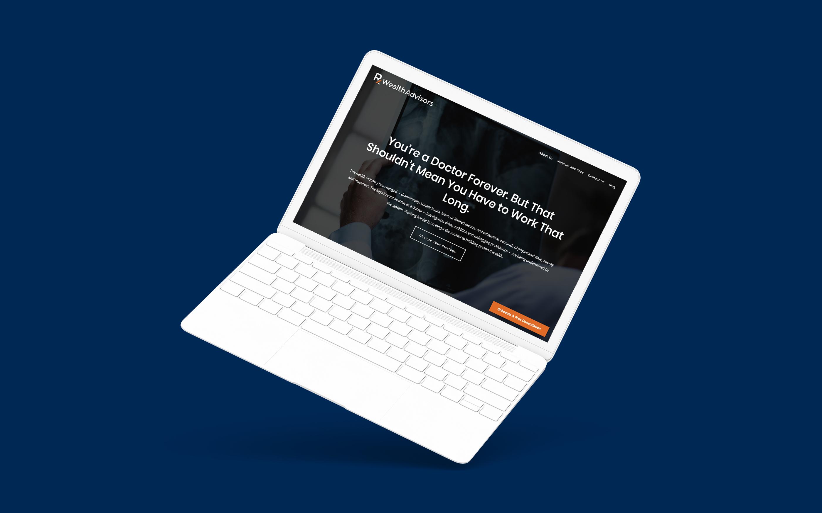 Advisor Website Showcase: Rx Wealth Advisors Featured Image